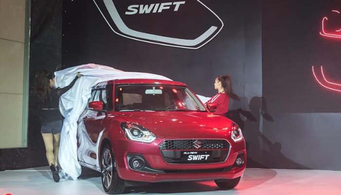 Suzuki Swift 201 có mặt tại showroom Biên Hoà